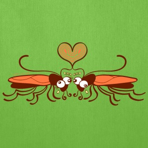 Ugly cockroaches passionately falling in love Bags & backpacks - Tote Bag