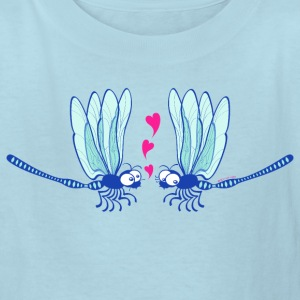 Cute dragonflies shyly falling in love Kids' Shirts - Kids' T-Shirt