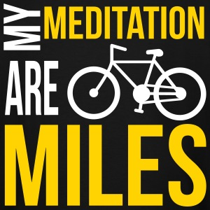 Meditation Miles Cycling T-Shirts - Men's Tall T-Shirt