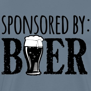 Sponsored by Beer - Men's Premium T-Shirt