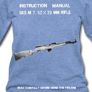 Norinco SKS Vintage Manual Whatever The Fuck This  - Women's Wideneck Sweatshirt