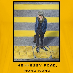 Hennessy Road shirt - Men's Premium T-Shirt
