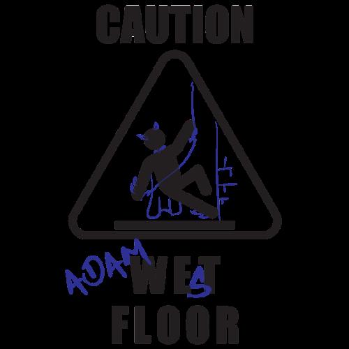 Adam West Floor Sign