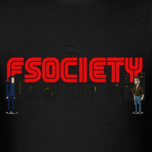 8 bit fsociety mr robot T-Shirts - Men's T-Shirt