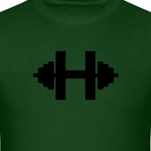 Men's Hulk Barbell T-shirt - Men's T-Shirt