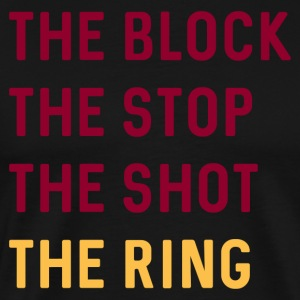 THE RING Men's Cleveland Cavaliers T-Shirt - Men's Premium T-Shirt