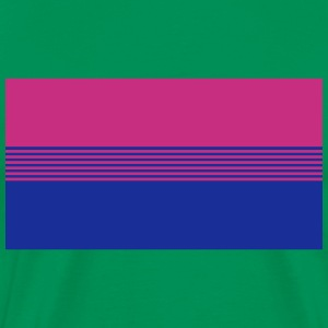 Bisexual Pride Flag T-Shirts - Men's Premium T-Shirt