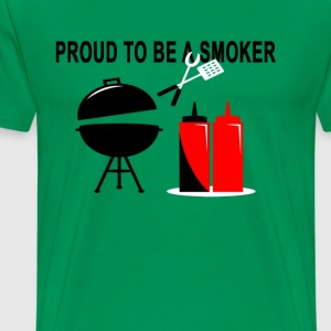 proud_smoker_tshirt - Men's Premium T-Shirt