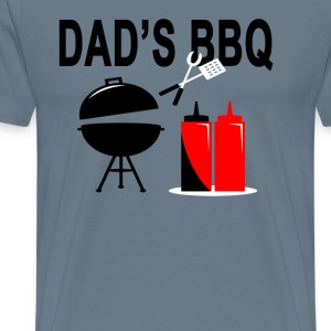 dads_bbq - Men's Premium T-Shirt