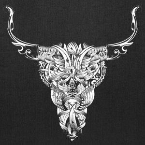Head of a bull - White - Bags & backpacks - Tote Bag