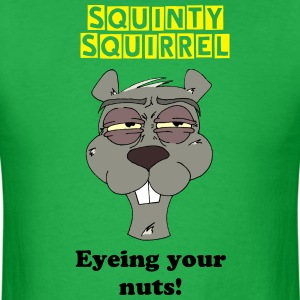 Squinty Squirrel Shirt - Men's T-Shirt