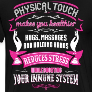 MASSAGE  - physical touch makes you T-Shirts - Men's Premium T-Shirt