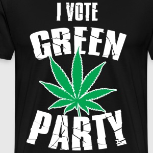 Vote green party - Men's Premium T-Shirt