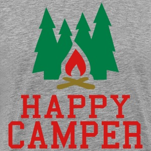 happy camper T-Shirts - Men's Premium T-Shirt
