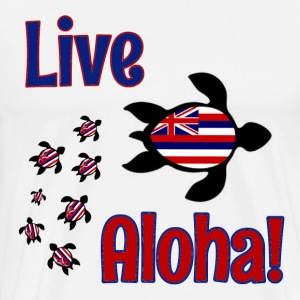Live the Aloha lifestyle! - Men's Premium T-Shirt