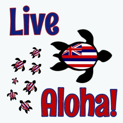 Transparent Live Aloha