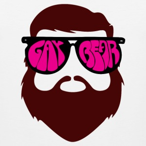Gay Bear Glasses  Sportswear - Men's Premium Tank