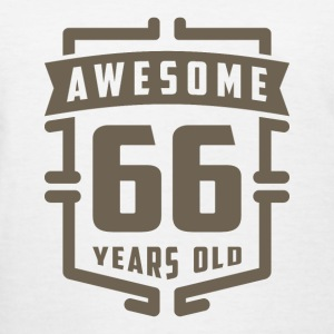 Awesome 66 Years Old - Women's T-Shirt