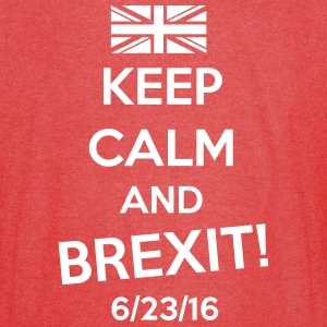 Keep Calm and BREXIT T-Shirts - Vintage Sport T-Shirt