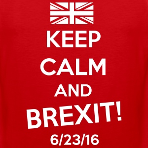 Keep Calm and BREXIT Sportswear - Men's Premium Tank