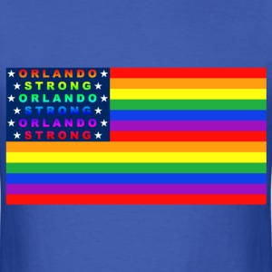 ORLANDO STRONG FLAG STARS - Men's T-Shirt