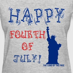 Fourth of July Tee For Women - Women's T-Shirt