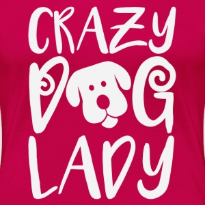 Crazy dog lady t-shirt - Women's Premium T-Shirt
