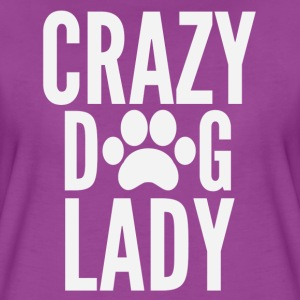 Crazy dog lady t shirt - Women's Premium T-Shirt