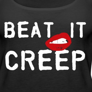 Beat it creep t shirt or tank top - Women's Premium Tank Top