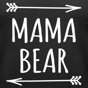Mama bear arrows t-shirt - Women's Premium Tank Top