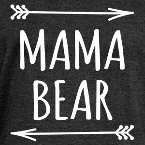 Mama bear sweatshirt - Women's Wideneck Sweatshirt