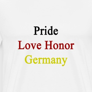 pride_love_honor_germany T-Shirts - Men's Premium T-Shirt