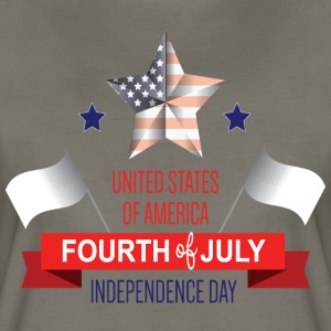 Fourth of July  - Women's Premium T-Shirt
