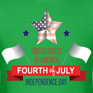 Fourth of July - Men's T-Shirt