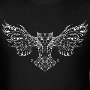 Owl white T-Shirts - Men's T-Shirt