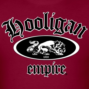 Hooligan Empire Lion Black T-Shirts - Men's T-Shirt