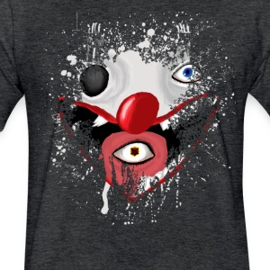 Chaotic Clown  - Fitted Cotton/Poly T-Shirt by Next Level