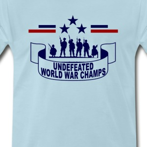 undefeated_world_war_champs_tshirt - Men's Premium T-Shirt
