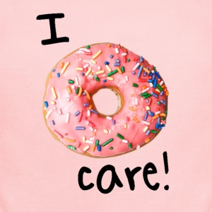 I donut care! (girls) - Short Sleeve Baby Bodysuit