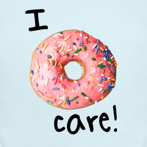 I donut care! (boys) - Short Sleeve Baby Bodysuit