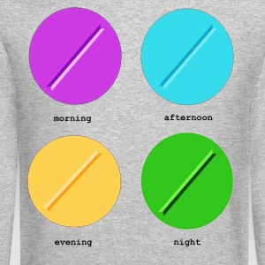 DAILY PILLS Long Sleeve Shirts - Crewneck Sweatshirt