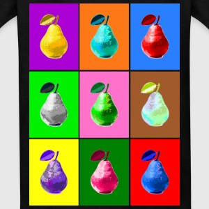 Pop Art Pear Kids' Shirts - Kids' T-Shirt