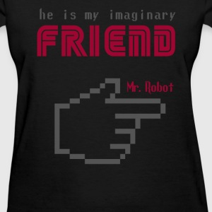 mr robot s02 Friend quote Women's T-Shirts - Women's T-Shirt