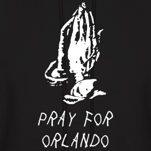 pray for orlando - Men's Hoodie