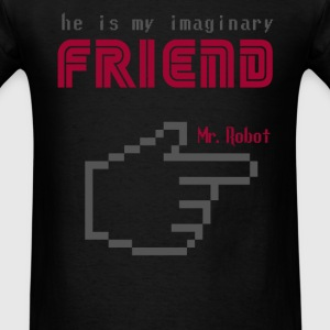 mr robot s02 Friend quote T-Shirts - Men's T-Shirt