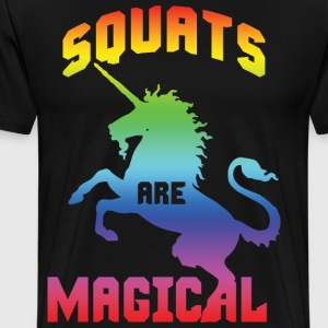 Squats Are Magical T-Shirts - Men's Premium T-Shirt