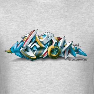 Phame Design for New York Graffiti  - 3D Style - M - Men's T-Shirt