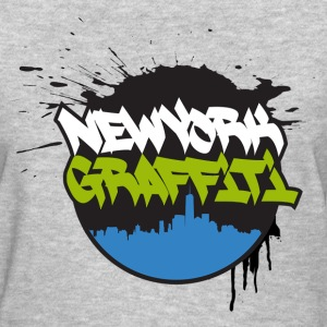 VERS - Design for New York Graffiti Color Logo - W - Women's T-Shirt