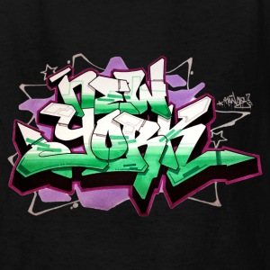 RANGE - Design for New York Graffiti Color Logo -  - Kids' T-Shirt