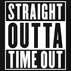 Straight Outta Time Out Kids' Shirts - Kids' T-Shirt